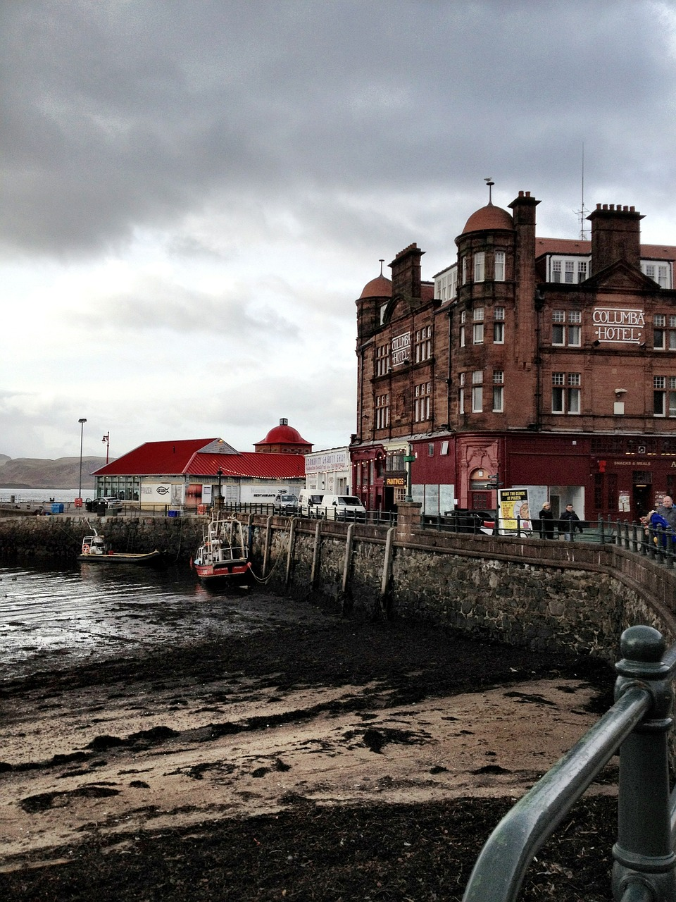 oban, scotland, dock